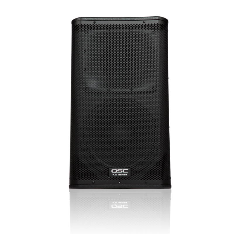 2 Way 1000W Powered Speaker -75x75 12/1.75 Drivers