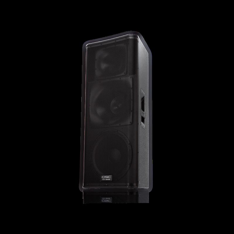 3 Way 1000W Powered Speaker -75x75 15/6.5/1.75 Drivers