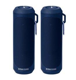 Boss Audio Bolt IPX4 Bluetooth Speaker Set (Pair)