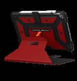 UAG iPad 10.2 7/8 Gen Folio Case - Magma