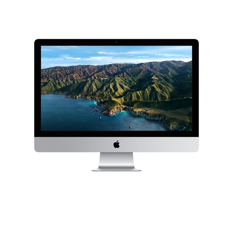 27-In iMac, Retina 5K, 3.8ghz 8-Core i7, 8Gb, 512gb SSD Wrls Ms & Kb