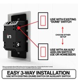 Inovelli Z-Wave On Off Smart Switch (Red Series)