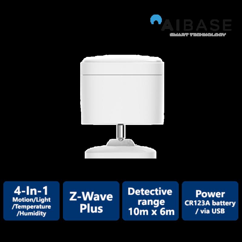 Wireless Z-Wave 4-in-1 Sensor