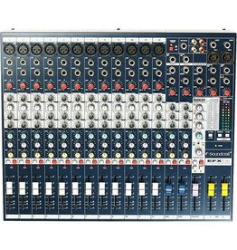 SoundCraft EFX12 High-Performance 12-Channel Audio Mixer With Effects