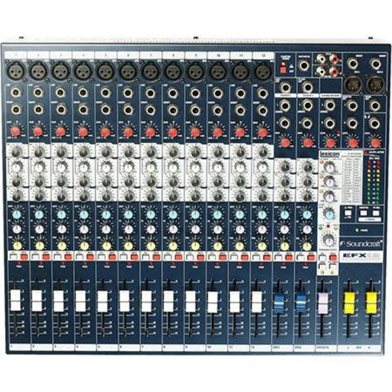 EFX12 High-Performance 12-Channel Audio Mixer With Effects