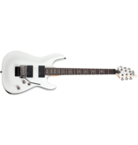 Schecter Demon 6 FR Electric Guitar With Duncan Designed in Vintage White