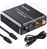 Digital to Analog Audio Converter - Optical / Coaxial to Analog RCA