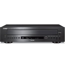 Yamaha 5-disc CD changer/USB port for select iPods