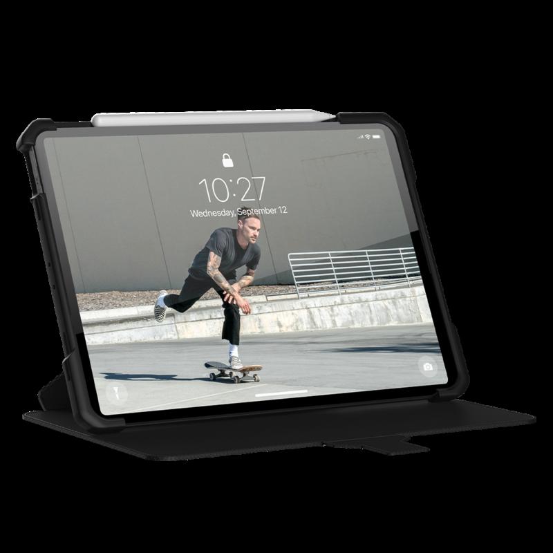 Metropolis Folio Case Black for iPad Air 4 Gen/iPad Pro 11