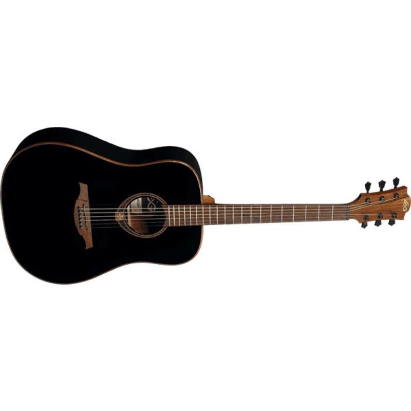 LAG  Dreadnought Acoustic Guitar - black