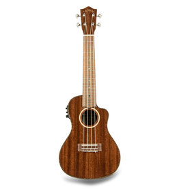 Lanikai Concert Ukulele with Mahogany Body, Walnut Fingerboard, and Kula Electronics