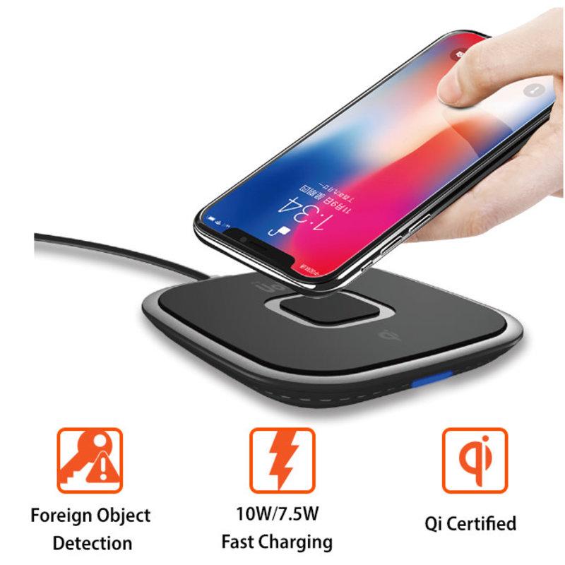 Volt Qi 10W Fast Wireless Charging Pad