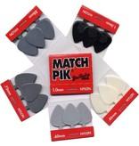 Dunlop Match Pik Pack - 6 Nylon Guitar picks