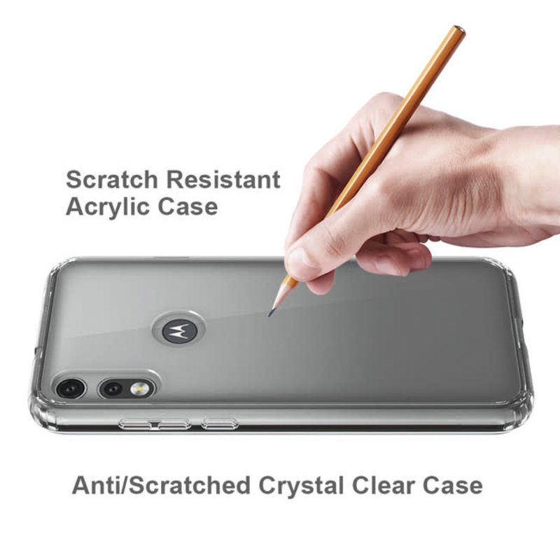 DropZone Rugged Case Clear for Moto E