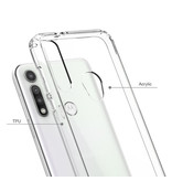 Blu Element DropZone Rugged Case Clear for Moto G Fast