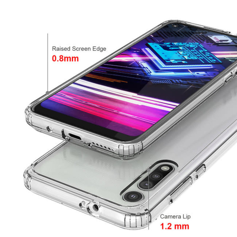 DropZone Rugged Case Clear for Moto G Fast
