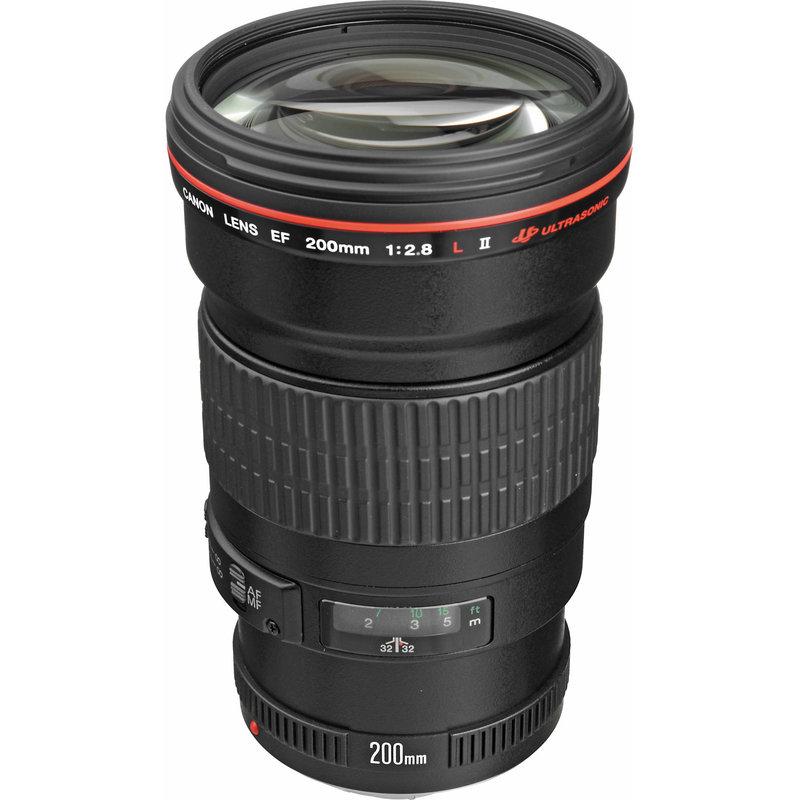 EF 200mm f2.8L (w/case and lens hood)