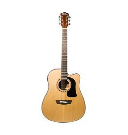 Washburn Appentice D5CE Acoustic-Elec dreadnaught Guitar Pack