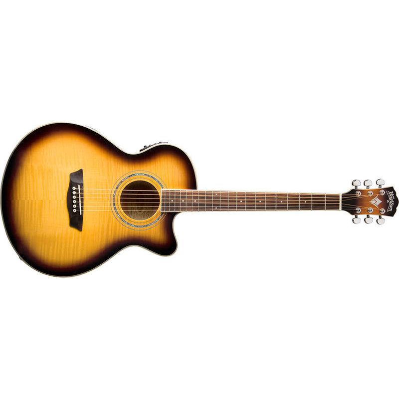 Festival Series Mini Jumbo Cutaway Acoustic Electric Guitar