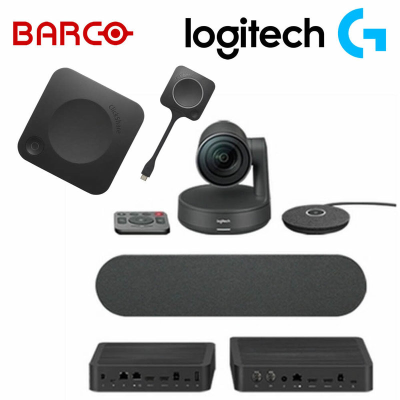 CX-20 ClickShare & Logitech Rally Conferencing Bundle
