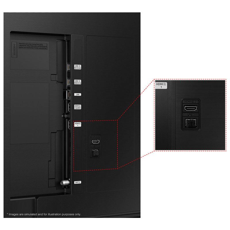 Samsung 65-Inch AU8000 Series 4K UHD Smart TV