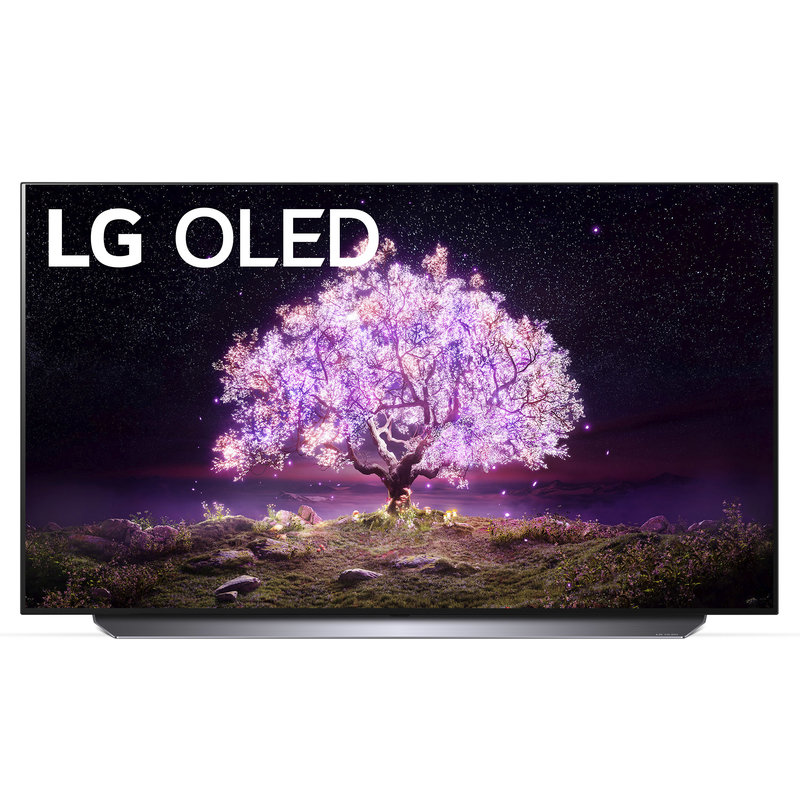 55-in C Series OLED 4K Smart TV With AI ThinQ