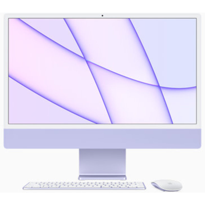 iMac 24-Inch M1 8-Core GPU, 8GB Ram, 512GB SSD w/ Touch ID KB