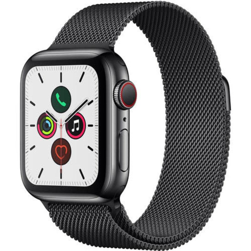 Apple Watch Series 5 Stainless Steel 40mm 4G LTE - Black