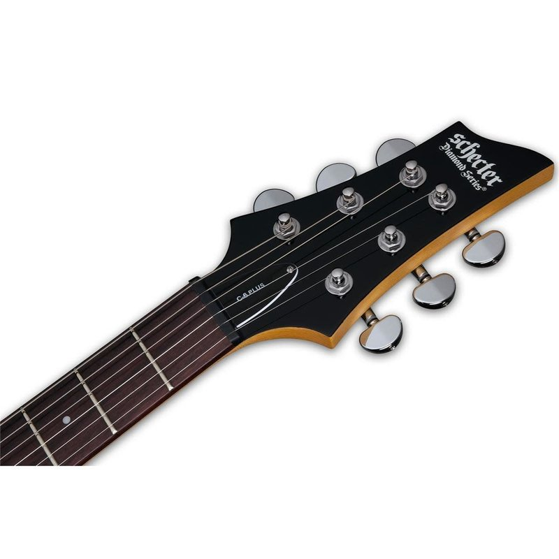 C6 Plus  Solid-Body Electric Guitar - Charcoal Burst