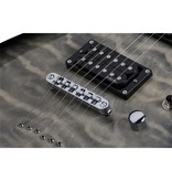 Schecter C6 Plus  Solid-Body Electric Guitar - Charcoal Burst