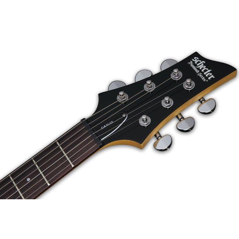 C6 Plus  Solid-Body Electric Guitar - Ocean Burst Blue