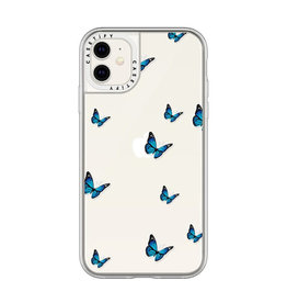 Casetify Grip Case Wild and Blue Stickers for iPhone 11