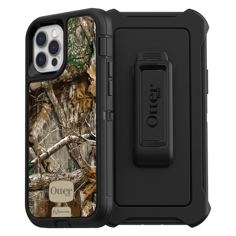 Otterbox - Defender Case iPhone 12/12 Pro Realtree Edge