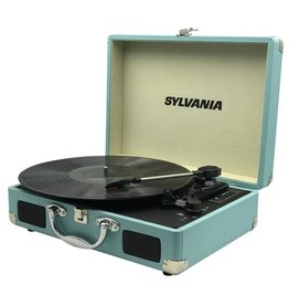 SYLVANIA Belt Drive USB Turntable - Blue