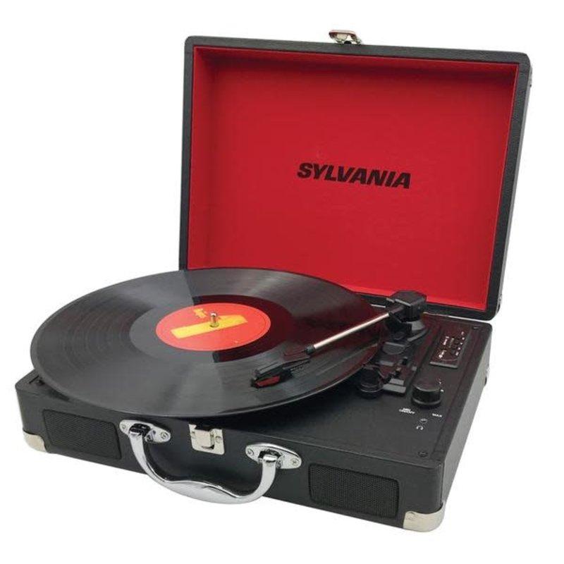 Sylvania Belt Drive USB Turntable - Black