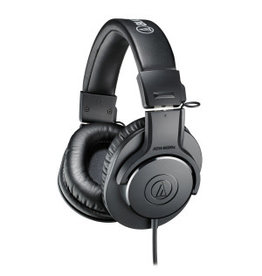 Audio-Technica M20 Closed-Back Monitor Headphones Straight Cable