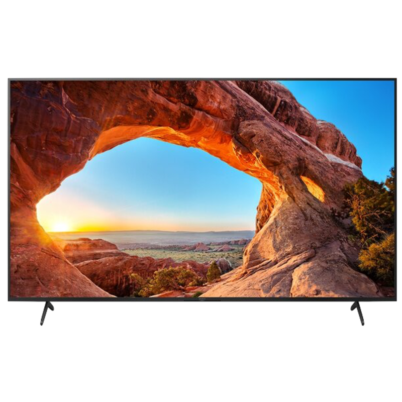 85-inch BRAVIA X85J  LED-backlit LCD TV - Smart TV - Google TV - 4K UHD (2160p) 3840 x 2160 - HDR