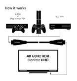 Club3D 10m / 32.8ft HDMI 2.0 High Speed 4K60Hz UHD Cable