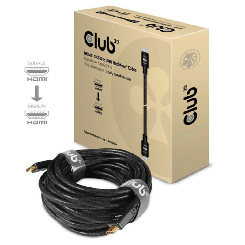 10m / 32.8ft HDMI 2.0 High Speed 4K60Hz UHD Cable