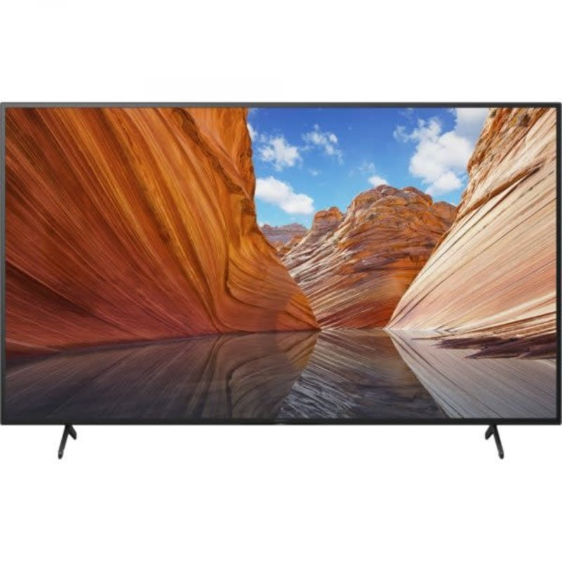 50-inch 4K BRAVIA X80J Series LED-backlit Smart TV