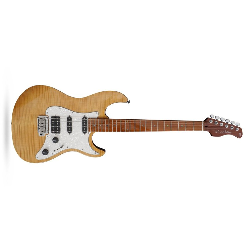 Larry Carlton S7 Flame Maple S-Style Electric Guitar