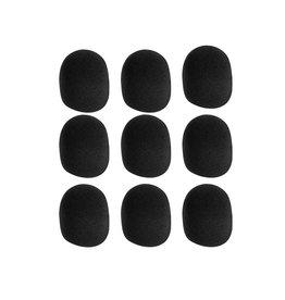 On-Stage Stands Black Foam Windscreen - 9 Pack