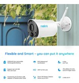 Reolink Argus Eco Outdoor Battery-powered WiFi Camera