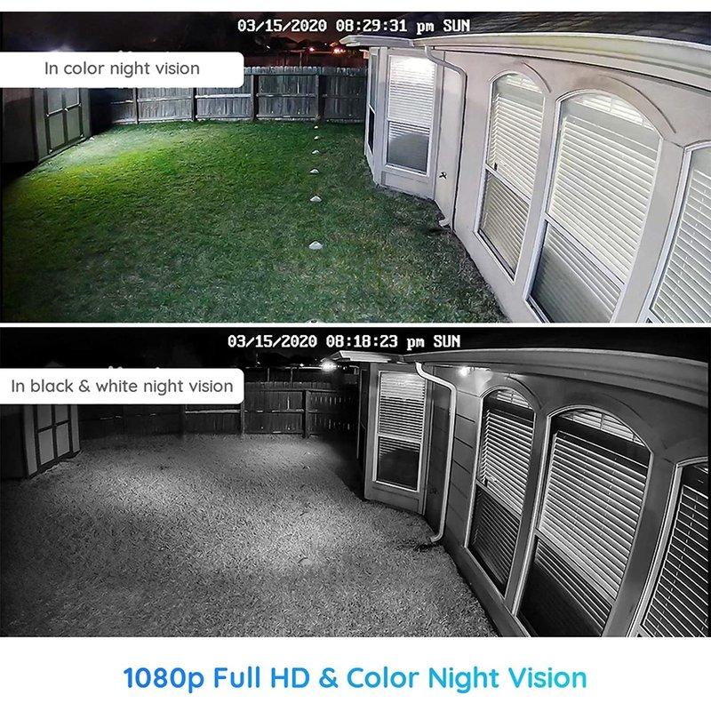 Lumus Outdoor WiFi Camera with Motion Spotlight