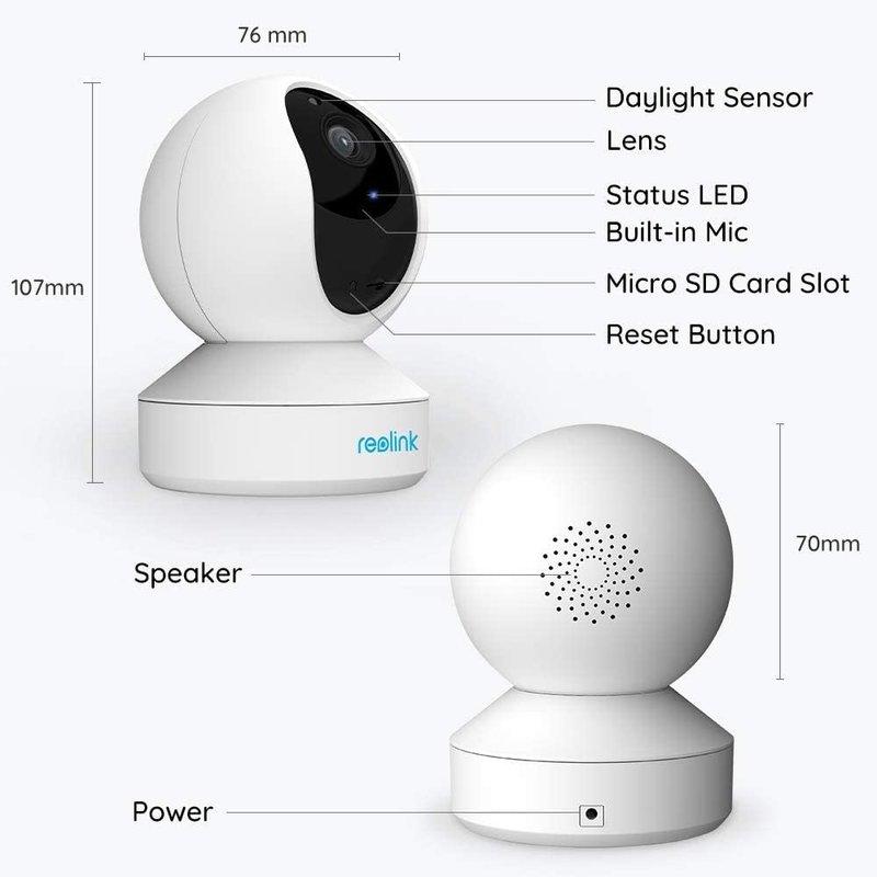 E1 ZOOM 5MP Indoor WiFi PTZ Camera