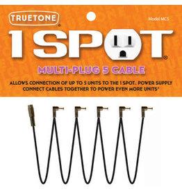 Truetone 1-Spot Multi-Plug 5 Cable