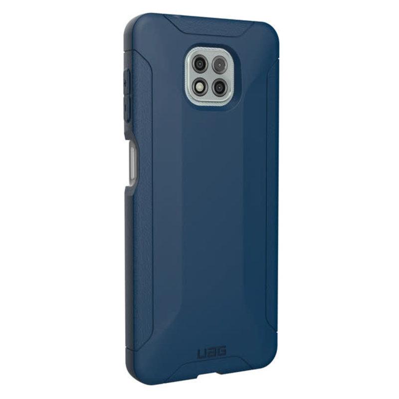Scout  Case for Motorola Moto G Power -  Mallard (Blue)