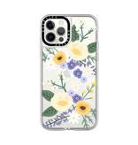 Casetify Grip Case Veronica Violet Floral Mix for iPhone 12/12 Pro