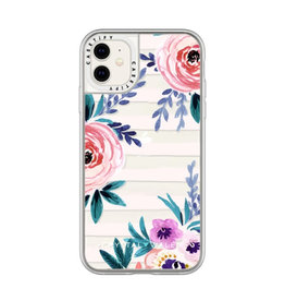 Casetify Grip Case Victoria Flower Soft Blushing for iPhone 11