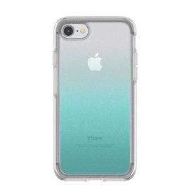 Otterbox Symmetry Case iPhone SE (Gen 2) & 7/8 Silver Flake/ Blue